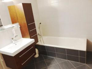 Badezimmer im Aparment
