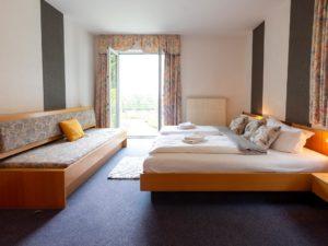 Komfort Doppelzimmer in der Drei Brüder Höhe