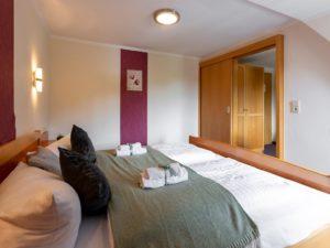 Schlafzimmer im kleinen Arpartment