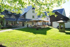 Hotel und Restaurant mit Biergarten im Erzgebirge